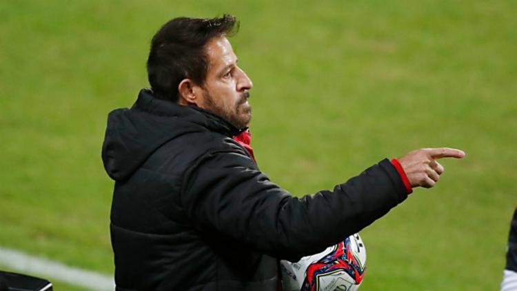 O treinador também explicou a opção de João Victor, ao invés de Marcelo Alves | Foto: Divulgação | Albari Rosa - Foto: Divulgação | Albari Rosa