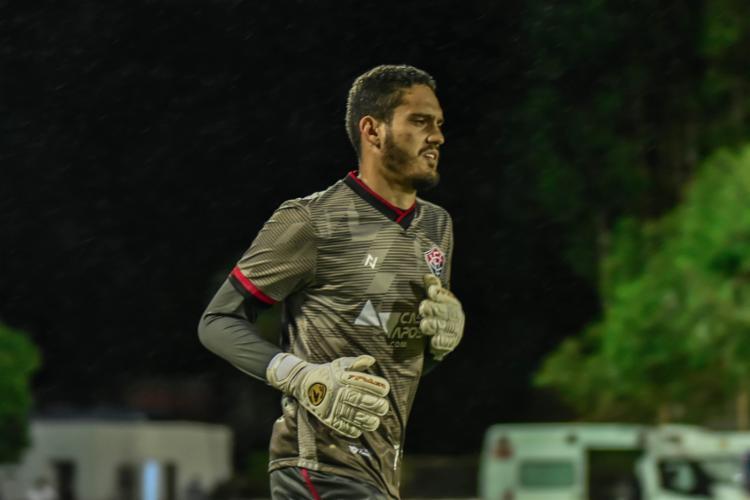 O goleiro ainda comentou sobre a sua situação contratual com o clube   Foto: Foto: Pietro Carpi   EC Vitória - Foto: Pietro Carpi   EC Vitória