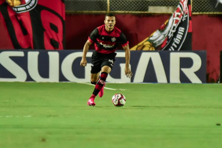 O zagueiro ainda comentou a confiança de Ramon Menezes, com quem trabalhou no CRB | Foto: Pietro Carpi | EC Vitória - Foto: Pietro Carpi | EC Vitória