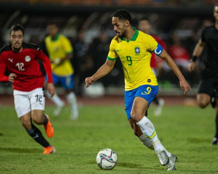 Brasil e Egito se enfrentam no próximo sábado, 31, às 7h   Foto:Lucas Figueiredo   CBF - Foto: Lucas Figueiredo   CBF