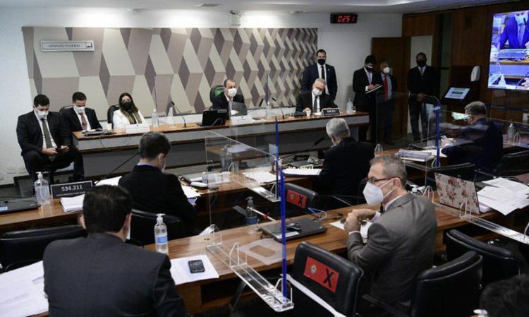 Emanuela Medrades prometeu responder às perguntas amanhã | Foto: Senado Federal - Foto: Senado Federal