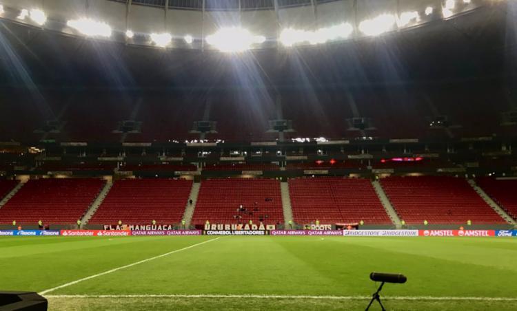 Entidade tenta aprovação para ter público nos estádios em jogos das quartas de final da Copa do Brasil | Foto: Reprodução | Twitter | @flamengo - Foto: Reprodução | Twitter | @flamengo