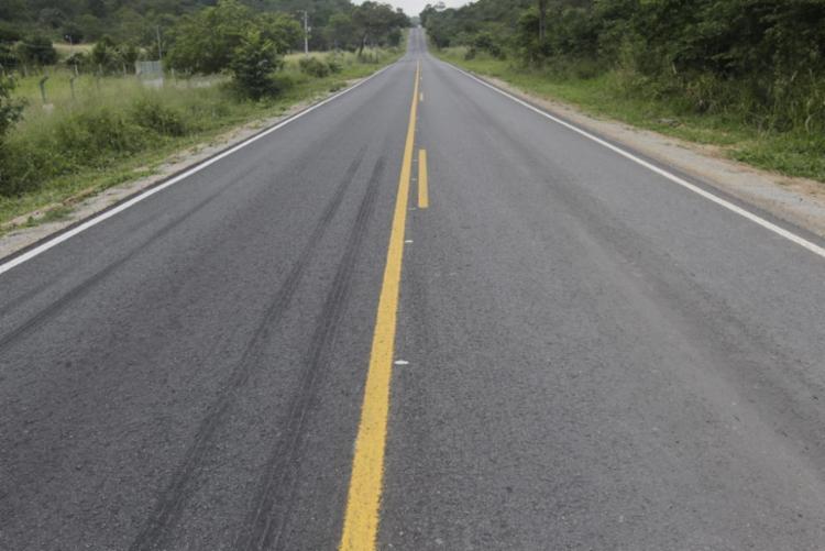 o todo foram recuperados 40 km da estrada | Foto: Alberto Coutinho | GOVBA - Foto: Alberto Coutinho | GOVBA