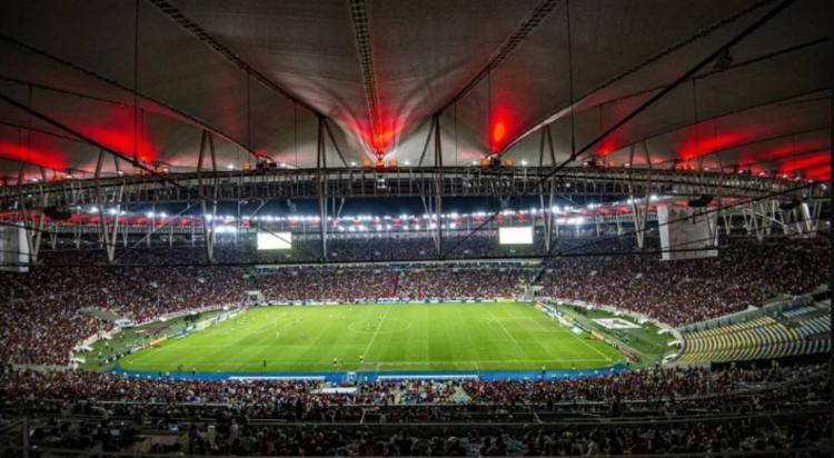 Foi liberada 10% da capacidade total do estádio | Foto:Marcelo Cortes | Flamengo - Foto: Marcelo Cortes | Flamengo