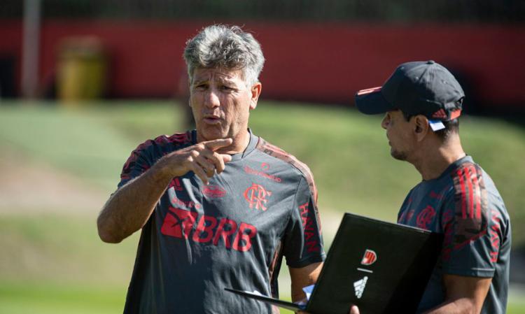 Treinador substitui Rogério Ceni, demitido na última semana   Foto: Alexandre Vidal   Flamengo - Foto: Alexandre Vidal   Flamengo
