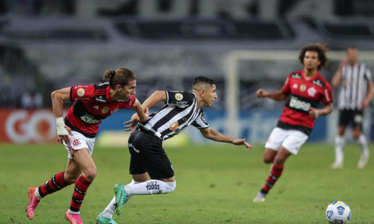 Galo superou Rubro-Negro por 2 a 1 no Mineirão | Foto: Pedro Souza | Atlético - Foto: Pedro Souza | Atlético