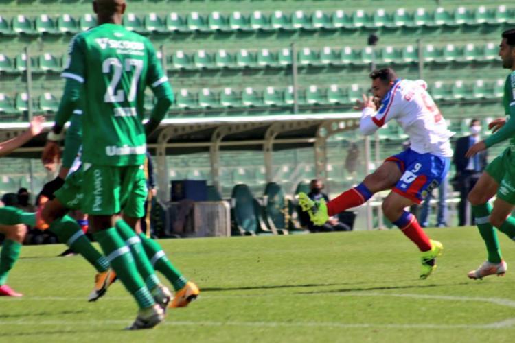 Gilberto entrou em campo no segundo tempo e foi decisivo em triunfo do time baiano   Foto: Divulgação   ECBahia - Foto: Divulgação   ECBahia