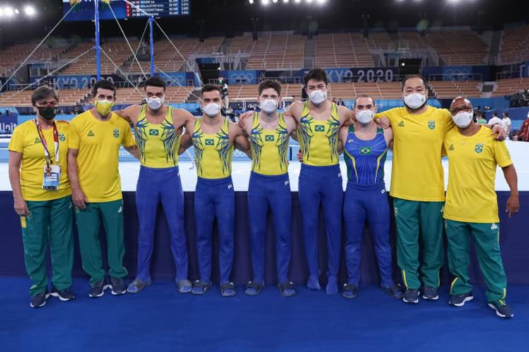 Brasileiros disputarão finais nas provas de argolas, salto e no individual geral, onde terá dois representantes - Foto: Ricardo Bufolin / CBG