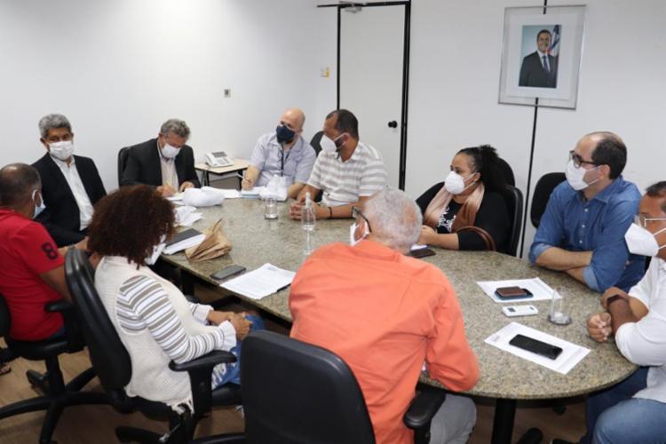 Esta foi a terceira reunião sobre o assunto realizada desde a semana passada | Foto: Divulgação - Foto: Divulgação