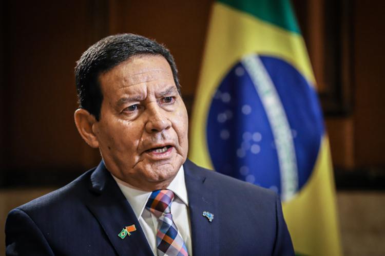 Mourão considerou exagerado o fundo eleitoral de R$ 5,7 bilhões aprovado na Lei de Diretrizes Orçamentárias | Foto: Divulgação - Foto: Divulgação