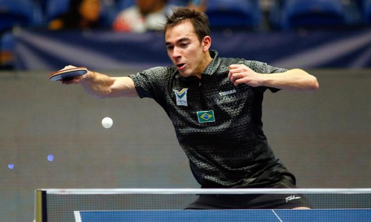 Carioca acredita que pode bater chineses com ritmo intenso de jogo | Foto: Jose Hudo Castaner | ITTF - Foto: Jose Hudo Castaner | ITTF