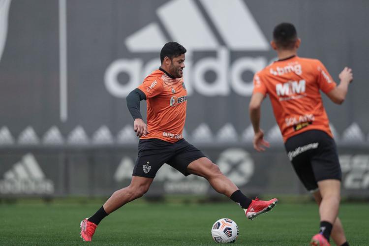 Com seis gols, o atacante Hulk, do Atlético-MG, é um dos artilheiros da competição   Foto: Pedro Souza   Atlético Mineiro - Foto: Pedro Souza   Atlético Mineiro