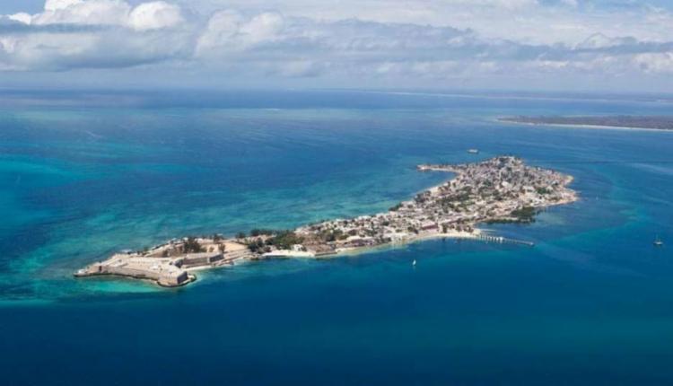 Vista aérea da Ilha de Moçambique   Foto: Pinterest - Foto: Pinterest