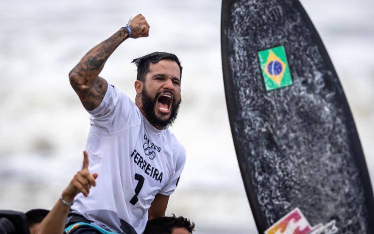 O nordestino de 27 anos conquistou o primeiro ouro do Brasil nas Olímpiadas de Tóquio | Foto: Jonne Roriz | COB - Foto: Jonne Roriz | COB