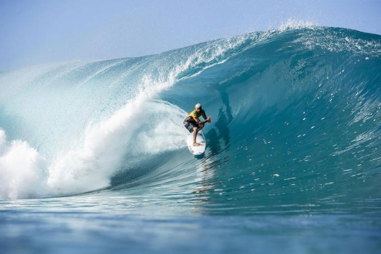 O atual campeão mundial sonha com o ouro na estreia olímpica do surfe nos Jogos de Tóquio.   Foto: Kelly Cestari   WSL - Foto: Kelly Cestari   WSL