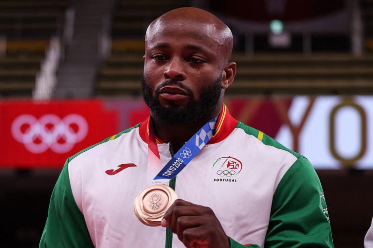 Jorge Fonseca foi medalha de bronze no judô | Foto: Jack Guez | AFP - Foto: Jack Guez | AFP