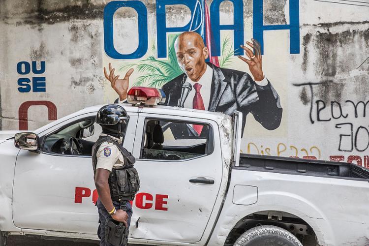 O assassinato de Moise agravou ainda mais a séria crise o país | Foto: Valerie Baeriswyl | AFP - Foto: Valerie Baeriswyl | AFP