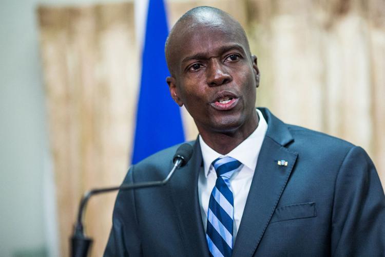 Jovenel Moïse, de 53 anos, foi morto durante a madrugada em sua residência privada   Foto: Pierre Michel Jean   AFP - Foto: Pierre Michel Jean   AFP