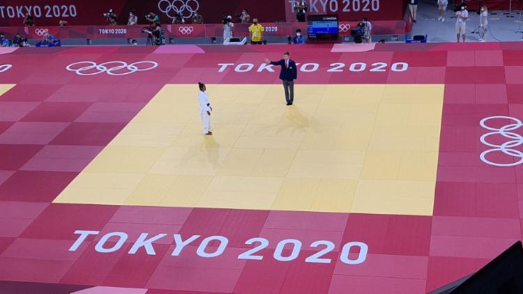 A organização dos Jogos Olímpicos informou que a adversária da brasileira não conseguiu bater o peso | Foto: Divulgação | Time Brasil - Foto: Divulgação | Time Brasil