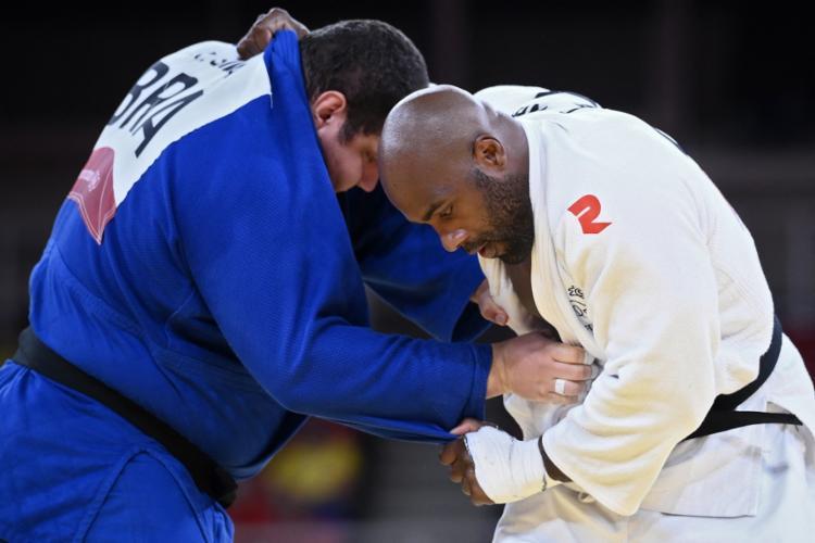 Com esta derrota, Rafael Silva termina em sétimo lugar na classificação geral | Foto: Franck Fife | AFP - Foto: Franck Fife | AFP