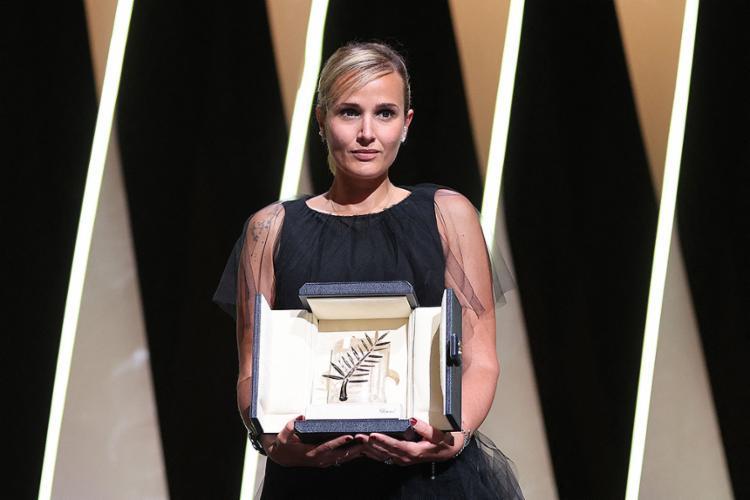 A francesa Julia Ducournau conquistou a Palma de Ouro do Festival de Cannes pelo filme