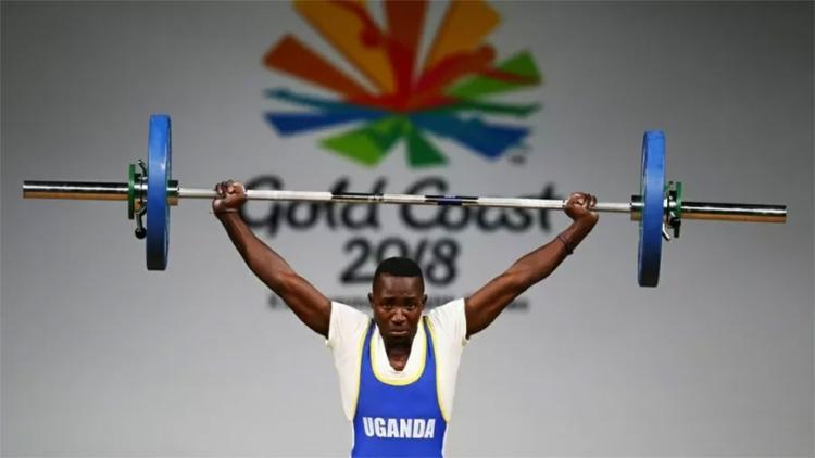 Julius Ssekitoleko, atleta de Uganda do levantamento de peso   Foto: Dean Mouhtaropoulos   Getty Images - Foto: Dean Mouhtaropoulos   Getty Images