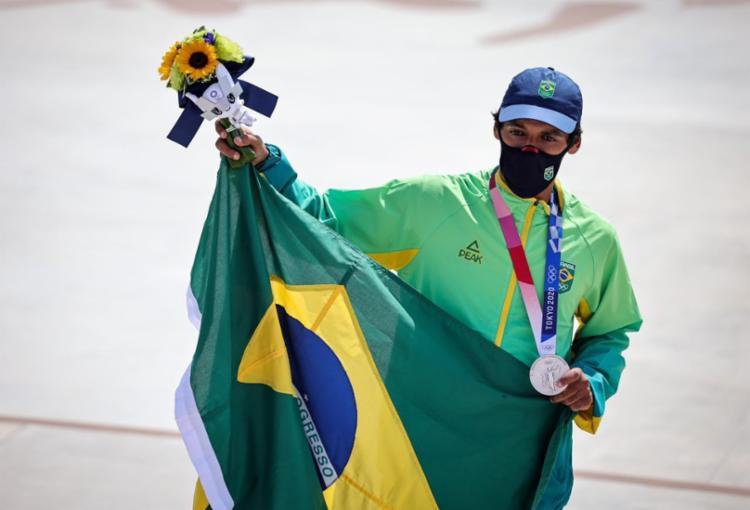 Paulista de 27 anos leva prata e conquista primeira medalha da modalidade na história dos Jogos Olímpicos - Foto: Jonne Roriz/COB