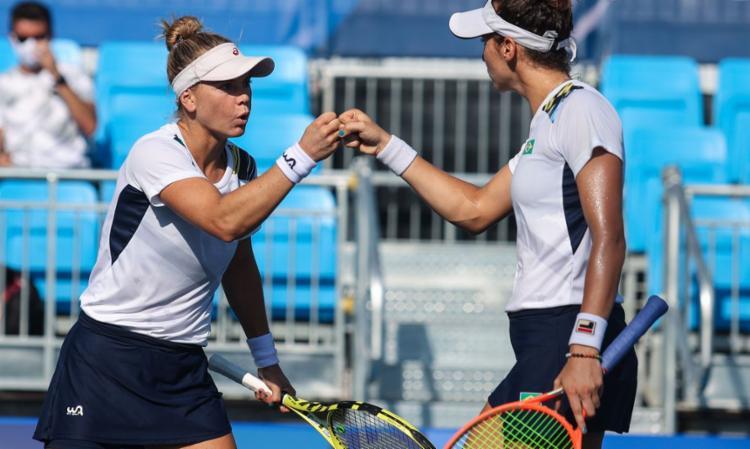 Com o resultado, a dupla igualou o melhor resultado do tênis brasileiro na história | Foto: Wander Roberto | COB - Foto: Wander Roberto | COB