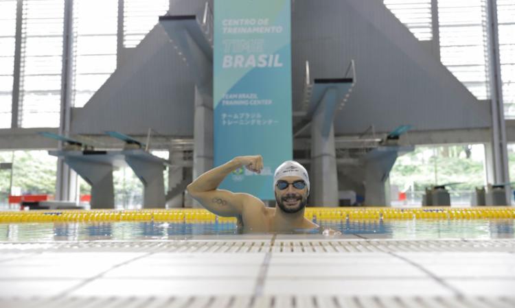 Brasileiro usa experiência e prioriza 200 m borboleta no Japão   Foto: Alexandre Castello Branco   COB - Foto: Alexandre Castello Branco   COB