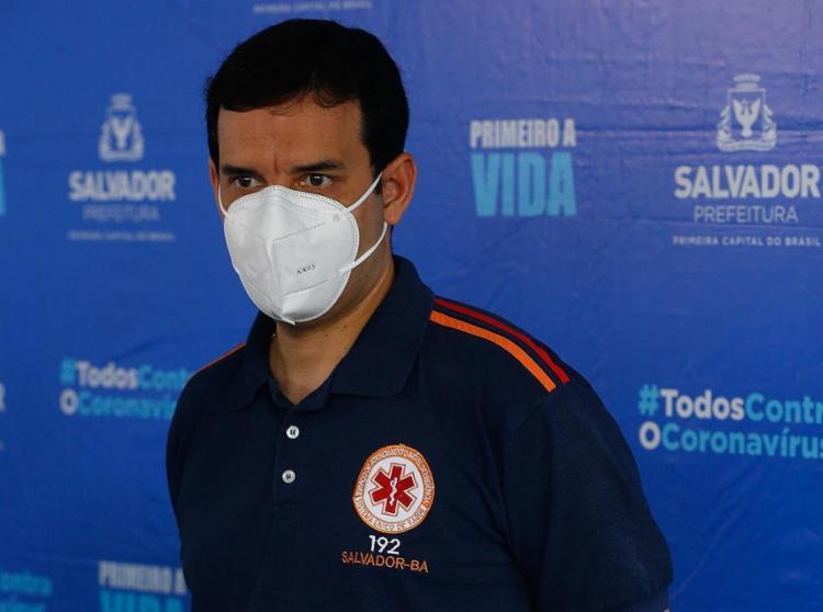 Leo Prates: 'Fundamental é nós estarmos preparados' | Foto: Rafael Martins | Ag. A TARDE | 19.2.2021 - Foto: Rafael Martins | Ag. A TARDE | 19.2.2021
