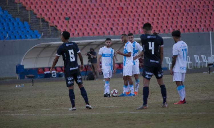 No estádio do Café, Tubarão faz 1 a 0 com gol do estreante Gegê | Foto: Ricardo Chicarelli | Londrina EC - Foto: Ricardo Chicarelli | Londrina EC