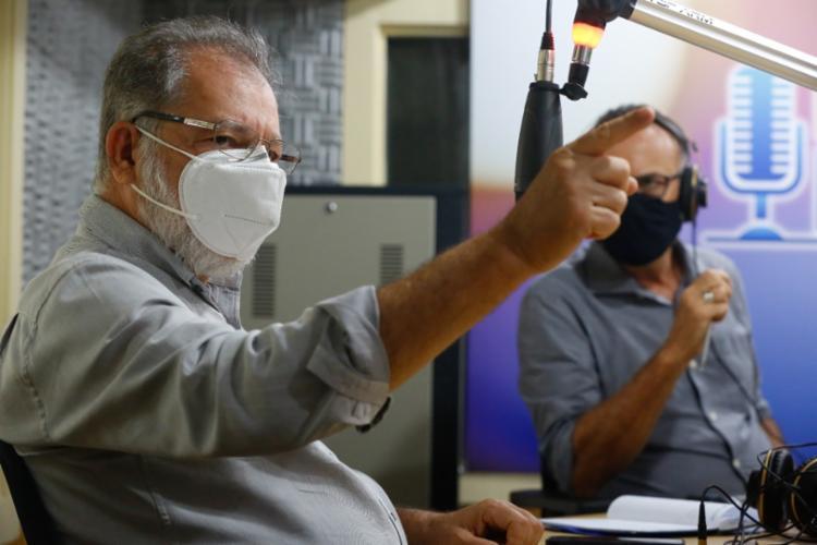 O líder da bancada baiana na Câmara dos Deputados disse ainda ser contra o voto impresso | Foto: Rafael Martins - Foto: Rafael Martins