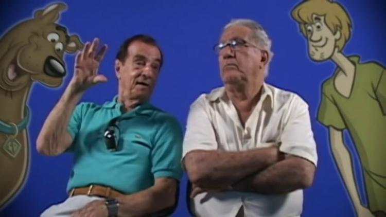Mário Monjardim (à dir.) era o melhor amigo do também dublador Orlando Drummond   Foto: Divulgação - Foto: Divulgação