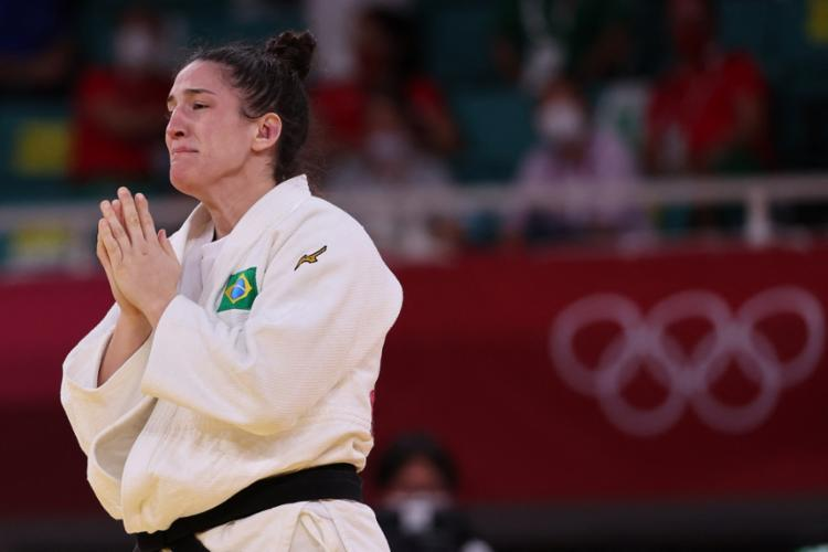 Brasileira ganhou sua terceira medalha olímpica | Foto: Jack Guez | AFP - Foto: Jack Guez | AFP