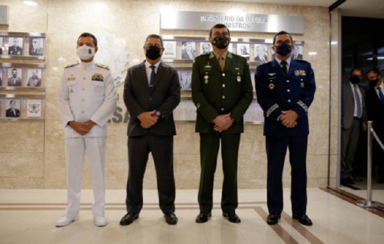 Militares da ativa das três Forças em Brasília foram vacinados como grupo prioritário | Foto: Divulgação | Redes Sociais - Foto: Governo Federal
