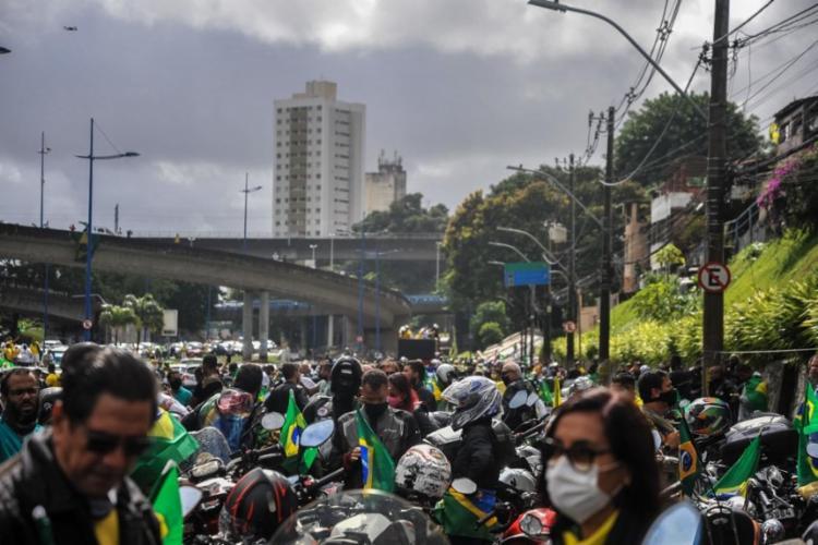 Para vice-presidente, manifestações não trazem risco de convulsão social   Foto: Felipe Iruatã   Ag. A TARDE - Foto: Felipe Iruatã   Ag. A TARDE