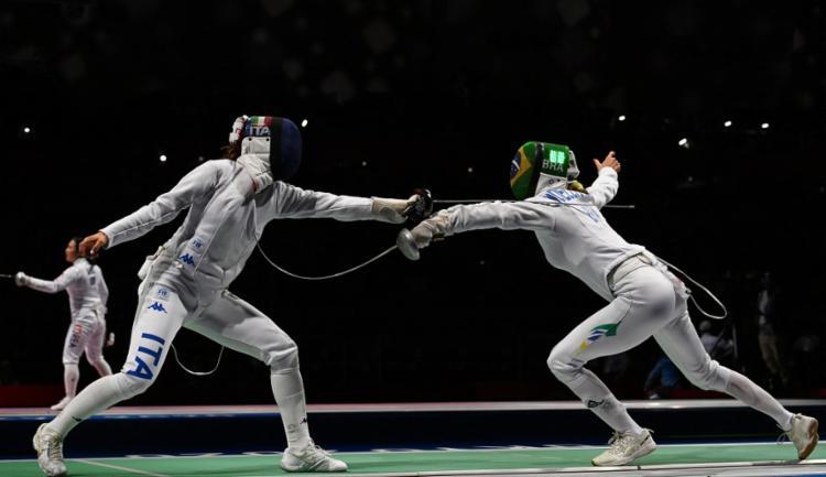 Ítalo-brasileira é superada por atual vice-campeã olímpica   Foto: Mohd Rasfan   AFP - Foto: Mohd Rasfan   AFP