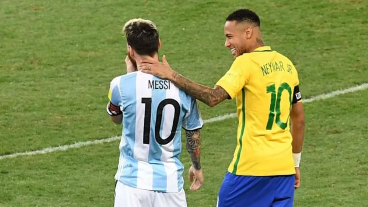 Os amigos Neymar e Messi se enfrentam neste sábado, 10, no Maracanã   Foto: Evaristo Sa   AFP - Foto: Evaristo Sa   AFP