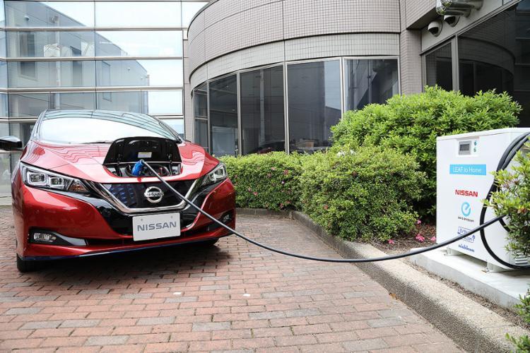 Nissan disponibiliza o Leaf para complementar a frota de elétricos | Fotos: Divulgação - Foto: Divulgação