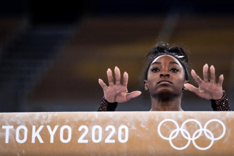 Biles explodiu nos jogos do Rio-2016, com quatro medalhas de ouro e uma de bronze   Foto: Loic Venance   AFP - Foto: Loic Venance   AFP