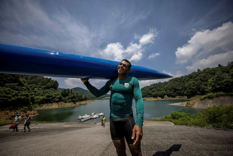 Isaquias disputa a etapa classificatória da C2 1000   Foto: Jonne Roriz   COB - Foto: Jonne Roriz   COB