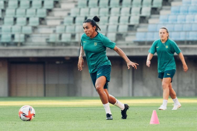 A seleção brasileira feminina estreia contra a China   Foto: Sam Robles   CBF - Foto: Sam Robles   CBF