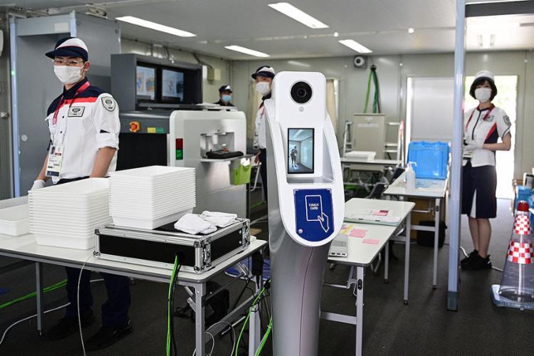 Os Jogos Olímpicos representam um desafio para os organizadores: garantir a segurança sanitária em um Japão pouco vacinado | Foto: Philip Fong | AFP - Foto: Philip Fong | AFP