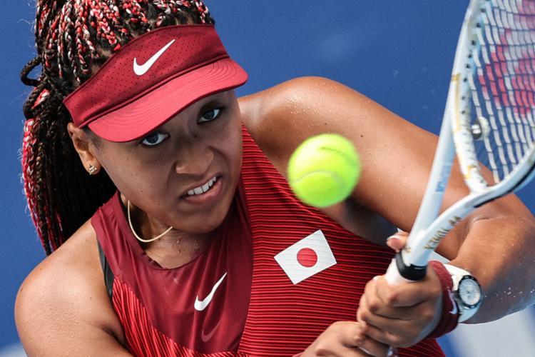 Osaka precisou de uma hora e sete minutos para derrotar a adversária | Foto: Giuseppe Cacace | AFP - Foto: Giuseppe Cacace | AFP