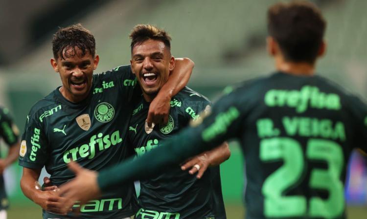 Verdão igualou Bragantino, mas ficou à frente por ter uma vitória a mais | Foto: Cesar Greco | Palmeiras - Foto: Cesar Greco | Palmeiras