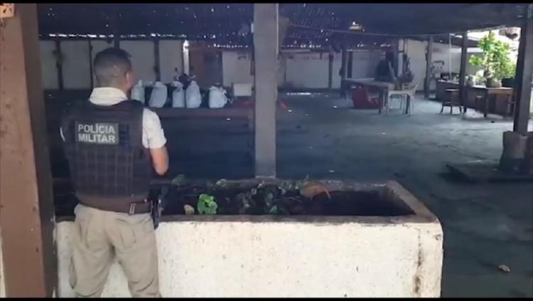 Assaltante já tinha outras quatro entradas na polícia | Divulgação/ PM da Bahia - Foto: Divulgação/ PM da Bahia