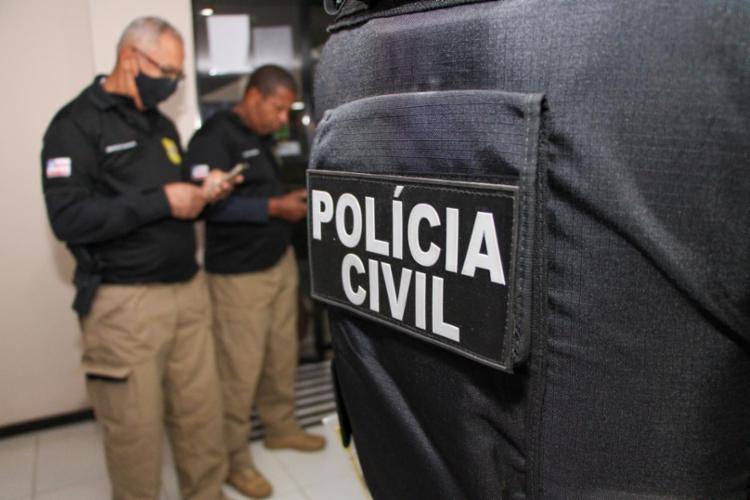 empresário está custodiado na sede da Coordenadoria Regional de Polícia do Interior | Divulgação/ SSP - Foto: Divulgação/ SSP