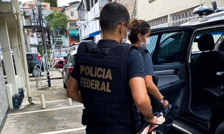 Operação investiga organização criminosa que atuou nas prefeituras do sul da Bahia   Divulgação / PF - Foto: Divulgação / PF