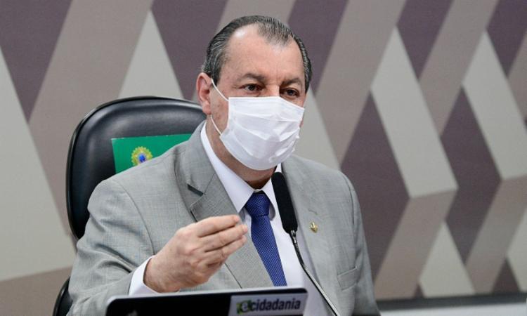Presidente da CPI, senador Omar Aziz (PSD-AM), organiza as ações do colegiado que serão retomadas em agosto | Foto: Divulgação - Foto: Divulgação
