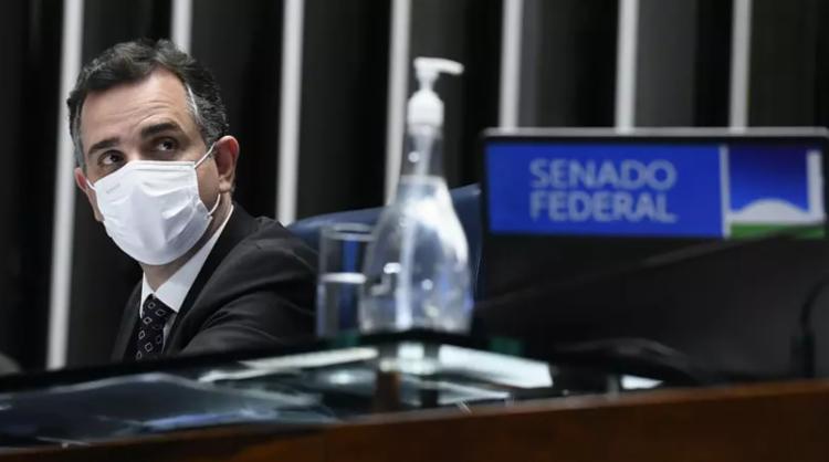 Em pronunciamento, presidente do Senado não citou Jair Bolsonaro | Foto: Marcelo Camargo I Agência Brasil - Foto: Marcelo Camargo I Agência Brasil